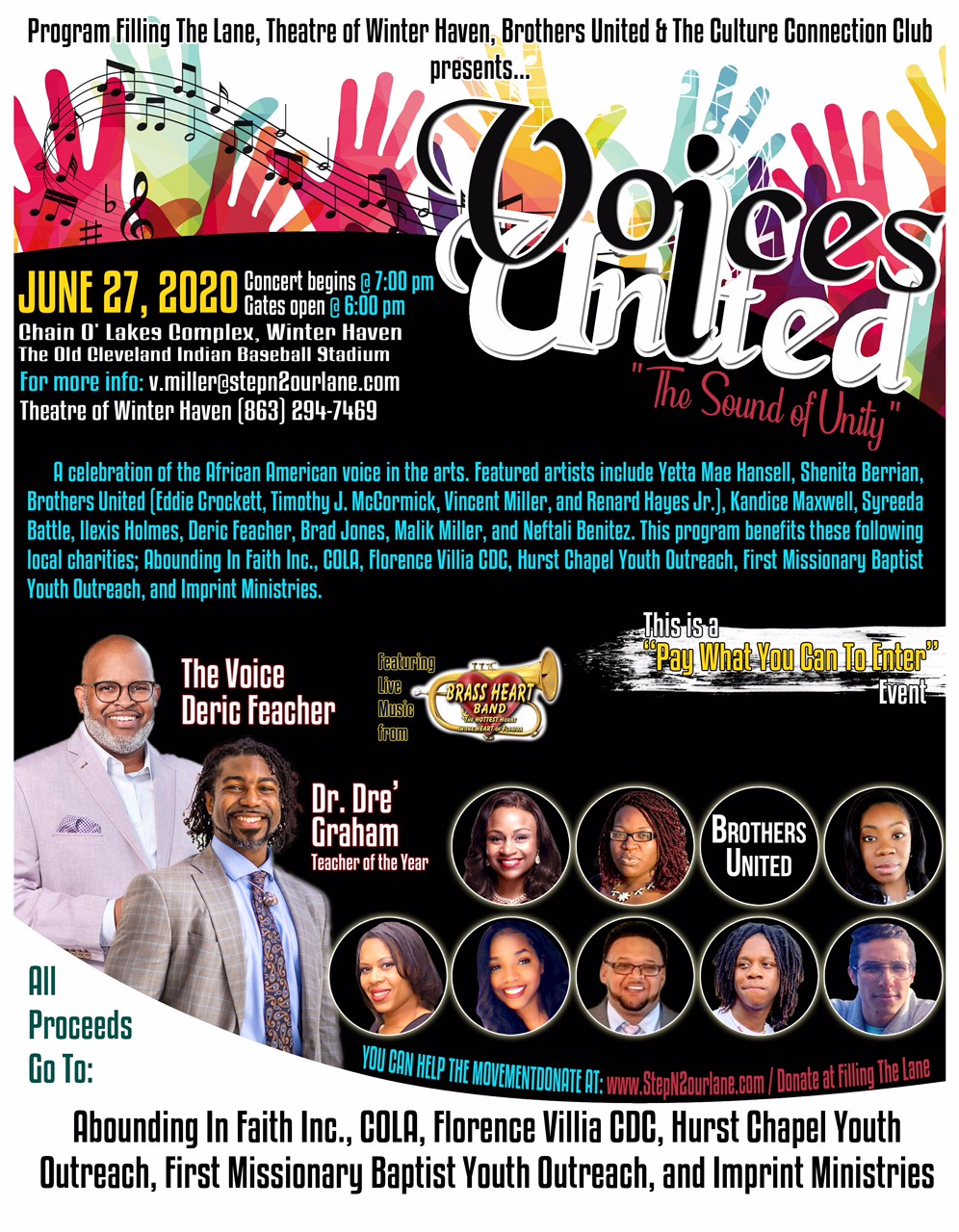 Voices United Poster